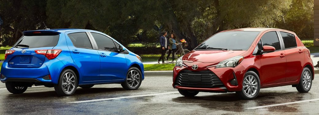What new features does the 2018 Toyota Yaris offer?