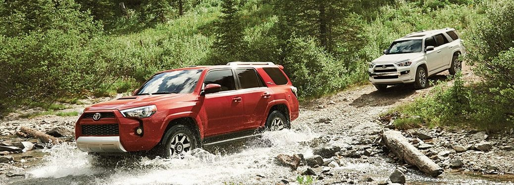 2018 Toyota 4Runner Off-Road Features