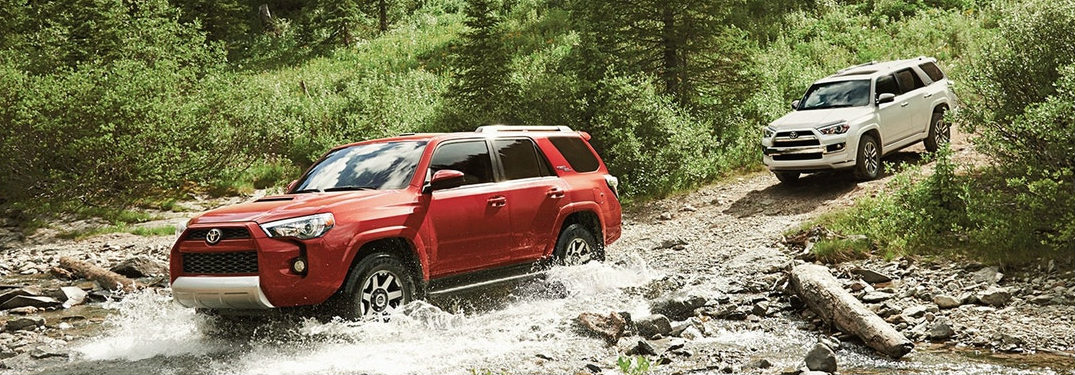 Conquer the Wilderness with the 2018 4Runner's Advanced Off-Road Technologies