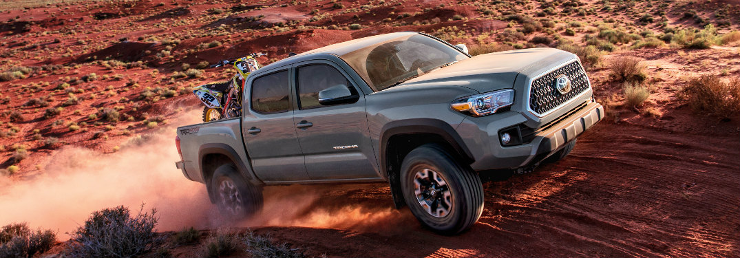 What new features does the 2018 Toyota Tacoma offer?