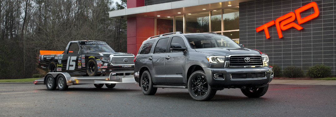 How many pounds can the 2018 Toyota Sequoia tow?