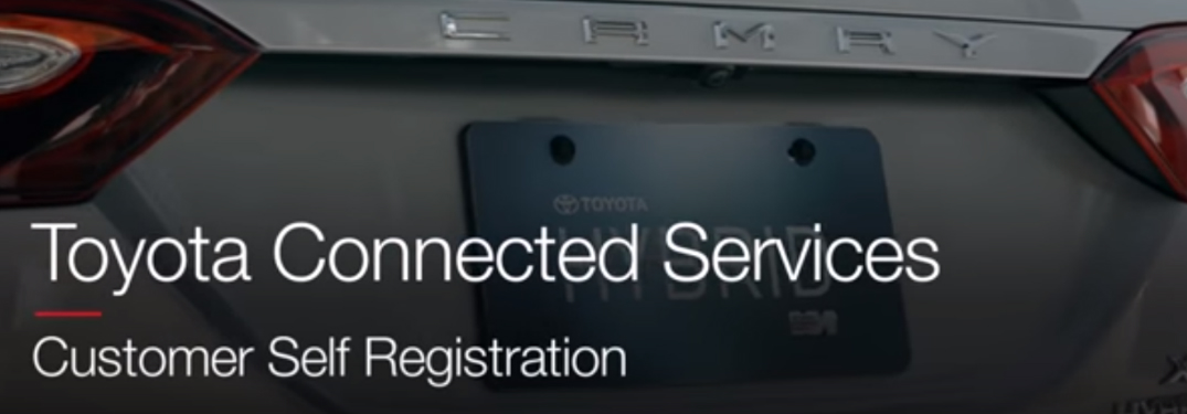 How to Register for Toyota Connected Services for the 2018 Camry