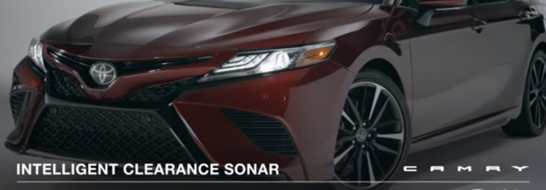 How Toyota Camry Intelligent Clearance Sonar with Rear Cross-Traffic Braking Works