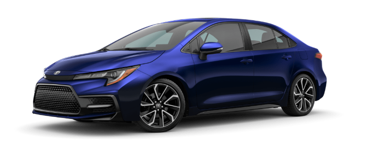 2020 Toyota Corolla in Blueprint