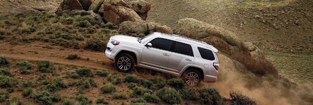2020 Toyota 4Runner driving up a hill