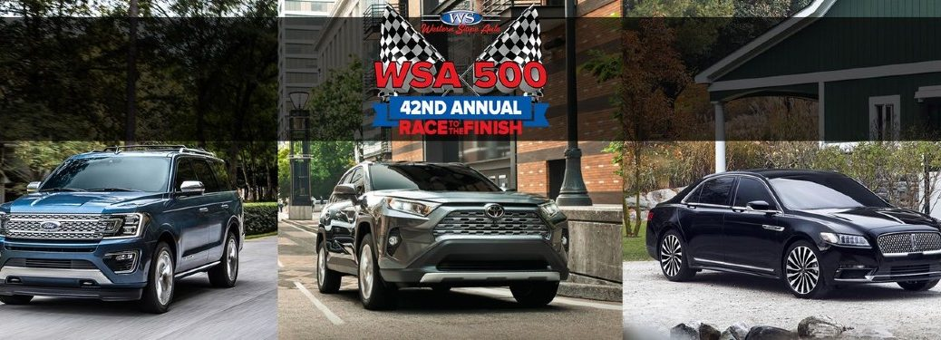 WSA 500 42nd annual race to the finish sales event