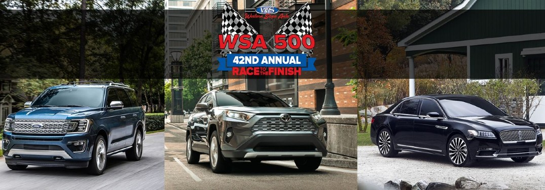 WSA 500 42nd Annual Race to the Finish Sales Event at Western Slope Auto