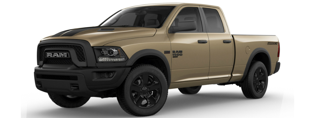 2019 Ram 1500 Classic Warlock offers a Stylish Mojave Sand Package