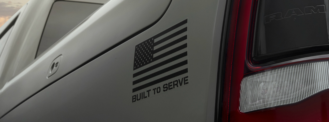 "Ram Unveils ""Built to Serve Edition"" Trucks to Honor the U.S. Military"