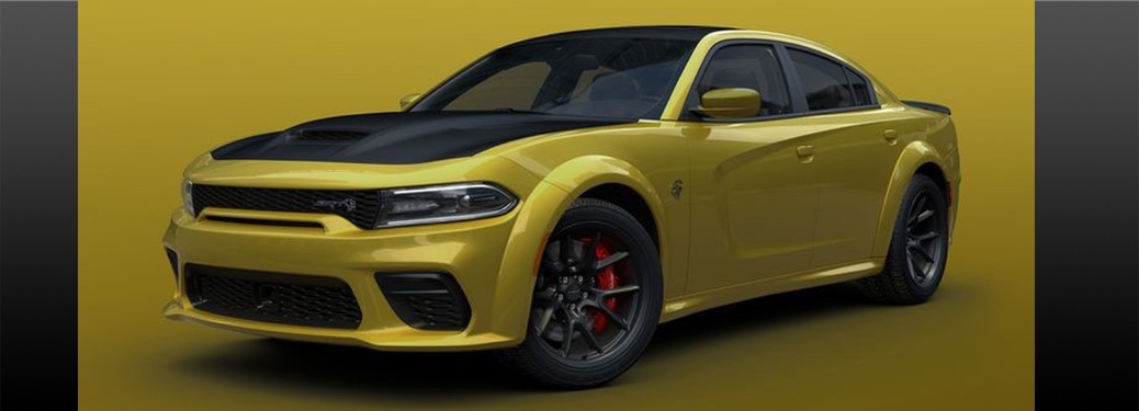 """Charger Adds """"Gold Rush"""" Paint Option"""