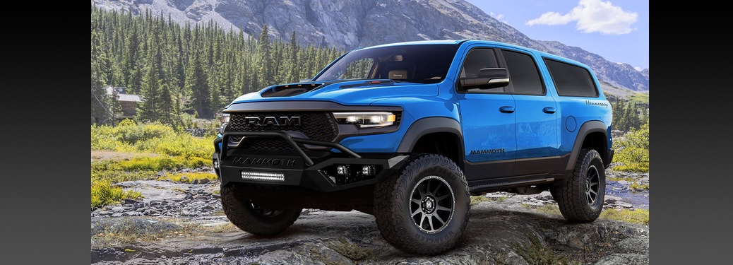 Hennessey creates 7-seat SUV from the 2021 Doge TRX