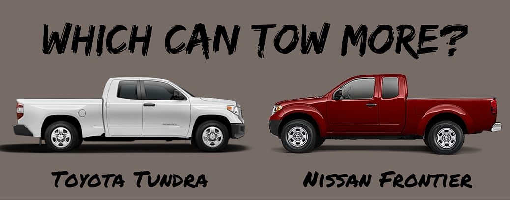 Tundra Towing Capacity >> Which Can Tow More 2016 Toyota Tundra Vs 2016 Nissan