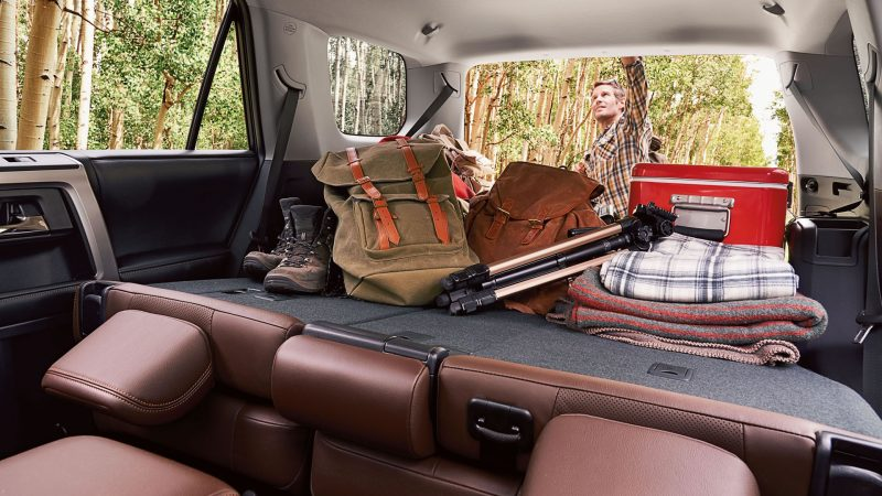 2016 Toyota 4runner Interior Cargo Space O Don Jacobs Toyota