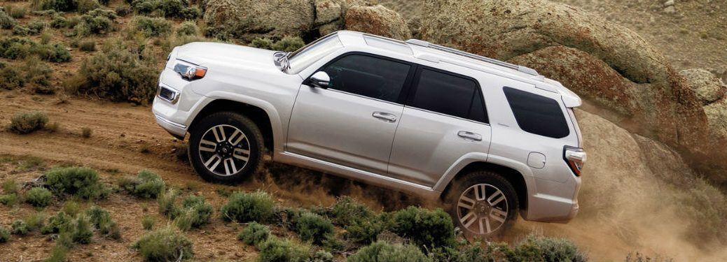 2020 Toyota 4Runner driving off-road