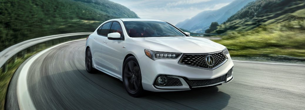 What features does the 2018 Acura TLX A-Spec offer?