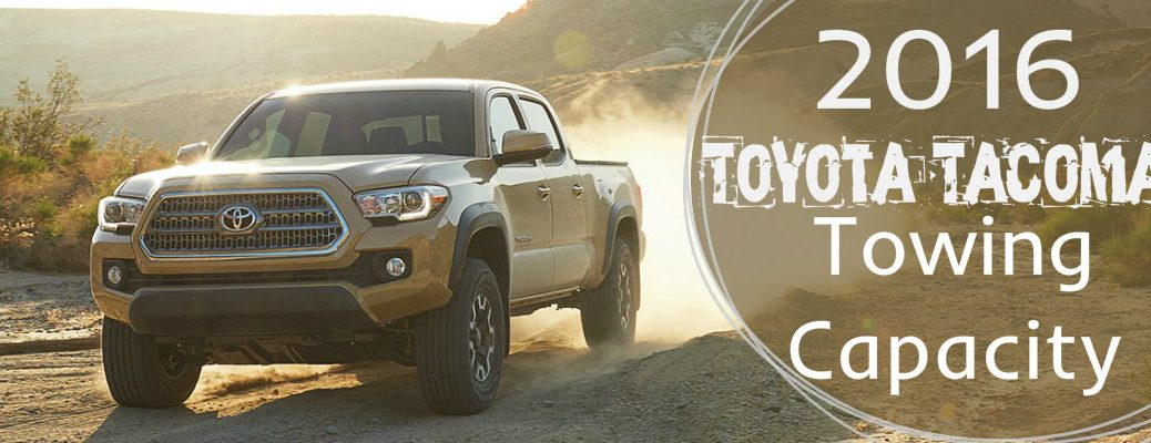How much can the 2016 Toyota Tacoma tow?