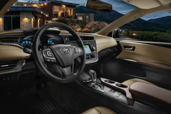 Tech Features in the 2017 Toyota Avalon