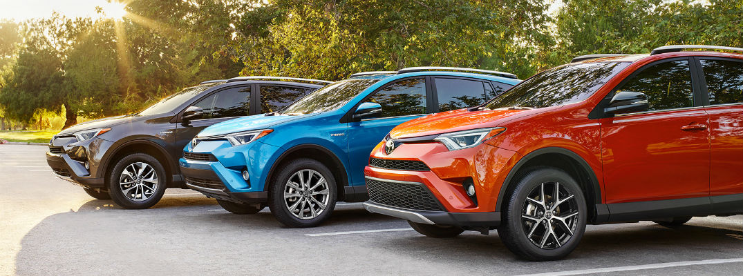 Which Toyota SUVs are available as Hybrids?