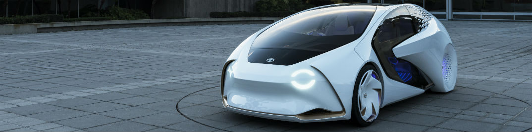Toyota Artificial Intelligence Concept Car