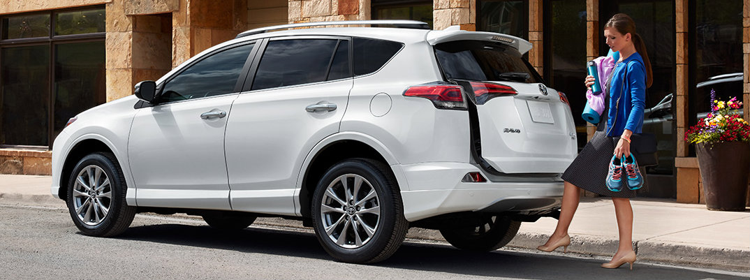What type of vehicle is the 2017 Toyota RAV4?