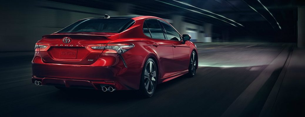 2018 Toyota Camry interior and exterior photos