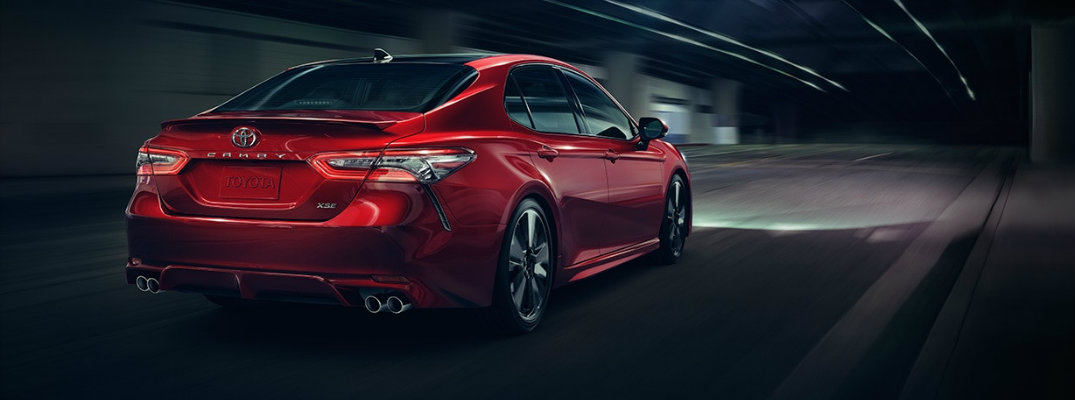 Photos show plenty of luxurious details for 2018 Toyota Camry