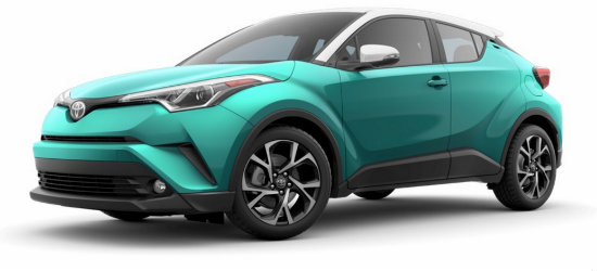 2018 Toyota CH-R Radiant Green Mica R-Code