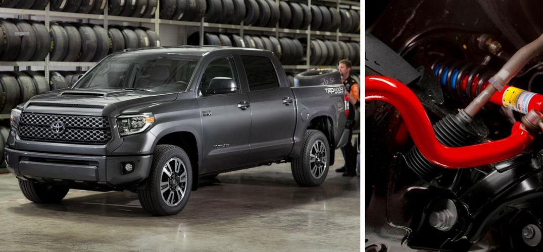 What does the 2018 Toyota Tundra TRD Sport look like