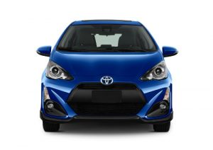 2017 Prius c shown in blue