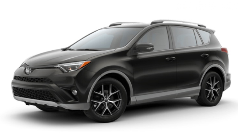 2018 Toyota RAV4 in S-Code Black