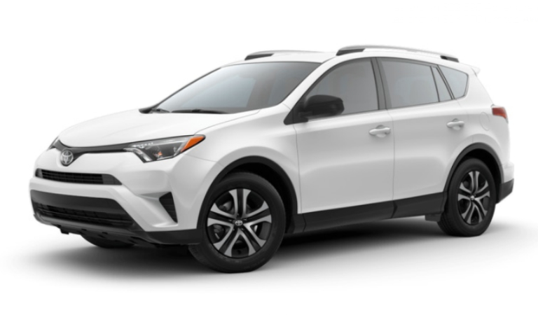 2018 Toyota RAV4 in Super White