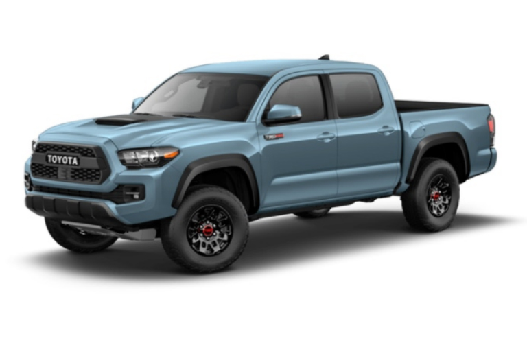 2018 Toyota Tacoma in Cavalry Blue