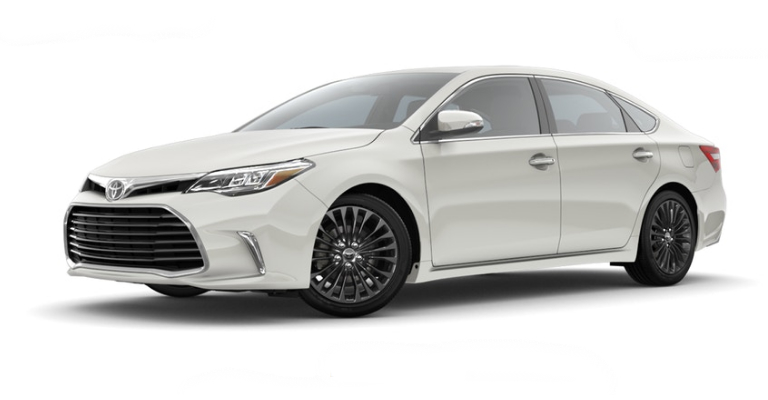 2018 Toyota Avalon in Blizzard Pearl