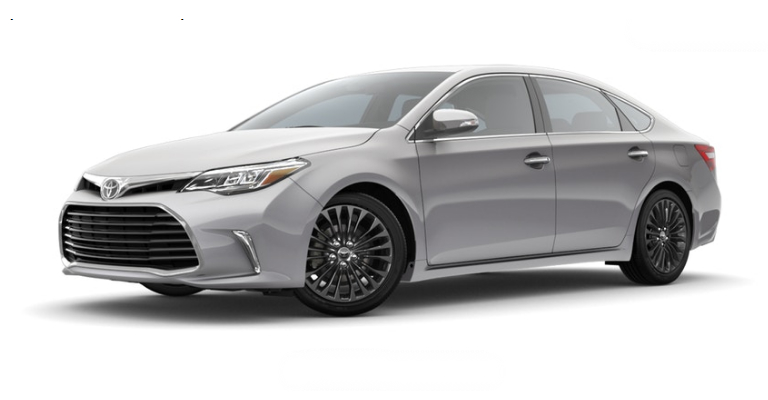 2018 Toyota Avalon in Celestial Silver Metallic