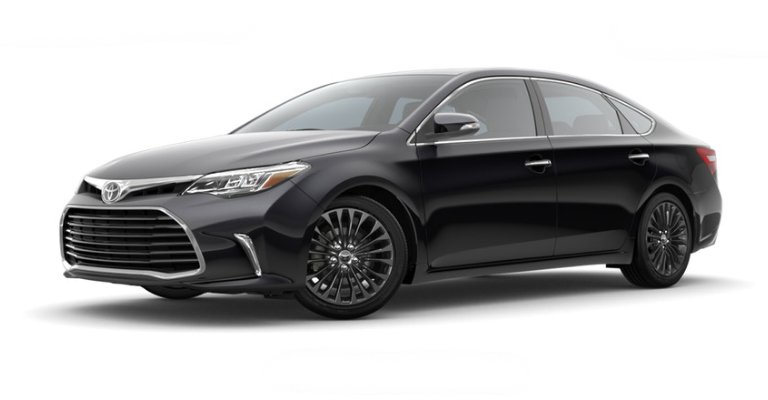 2018 Toyota Avalon in Midnight Black Metallic