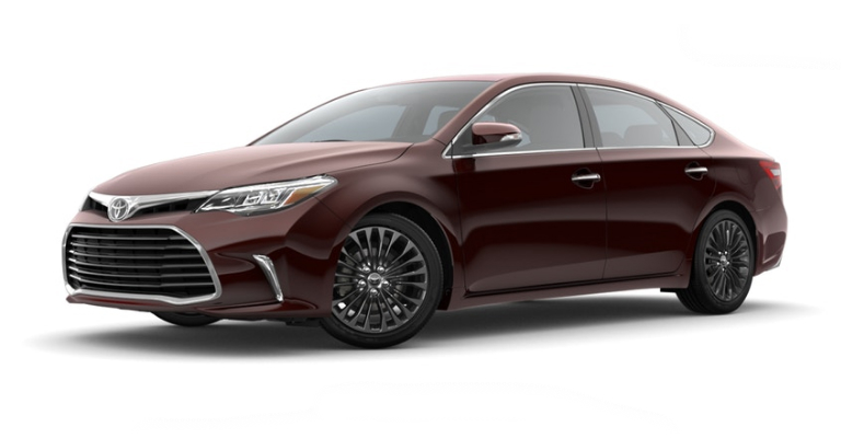 2018 Toyota Avalon in Sizzling Crimson Mica