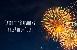 Catch the fireworks this 4th of July with fireworks in the night sky