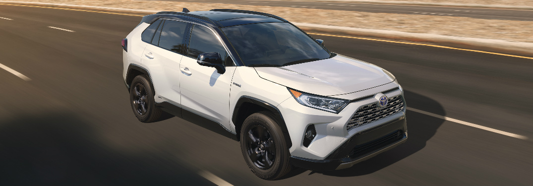 When will the Toyota RAV4 and RAV4 Hybrid be available in Knoxville, TN?