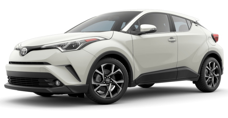 2019 Toyota C-HR in Blizzard Pearl