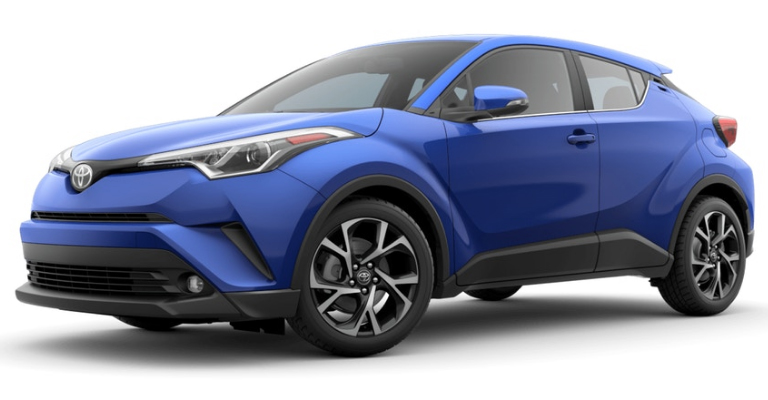 2019 Toyota C-HR in Blue Eclipse Metallic