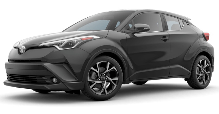 2019 Toyota C-HR in Magnetic Gray Metallic
