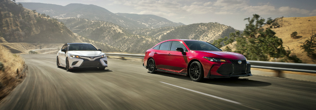 New Camry TRD, Avalon TRD Deliver Premium Handing and Performance