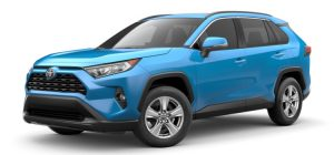 2019 Toyota RAV4 in Blue Flame