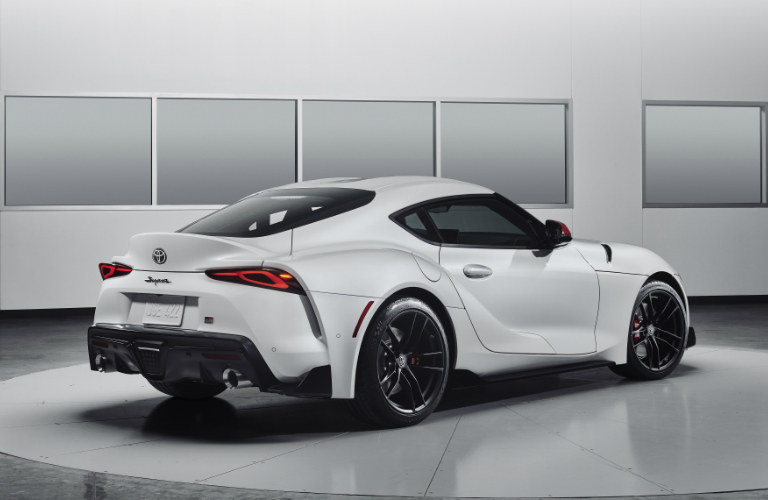 2020 Toyota Supra Launch Edition rear exterior