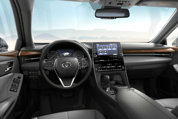 2019 Toyota Avalon SofTex Trim in Gray