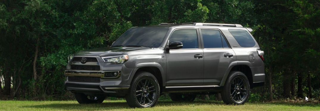 What Color Options are Available on the 2019 Toyota 4Runner Nightshade Edition?