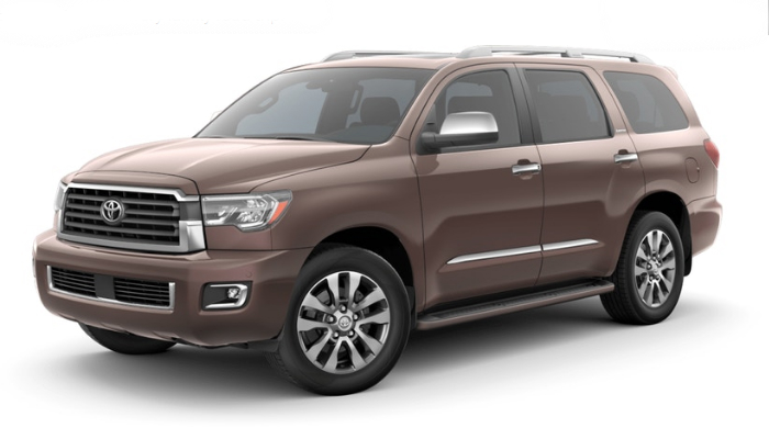 2019 Toyota Sequoia in Toasted Walnut Pearl