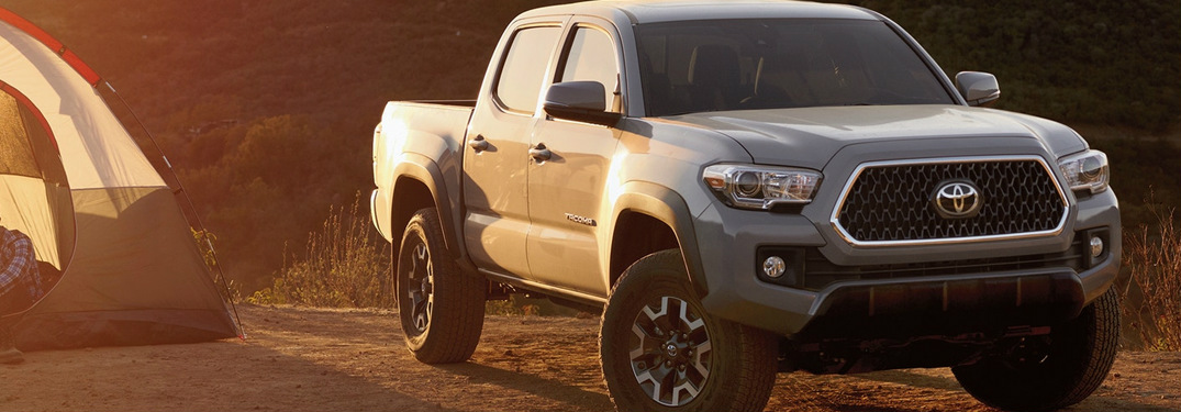 Customize Your 2019 Toyota Tacoma With One Of Seven Optional Packages