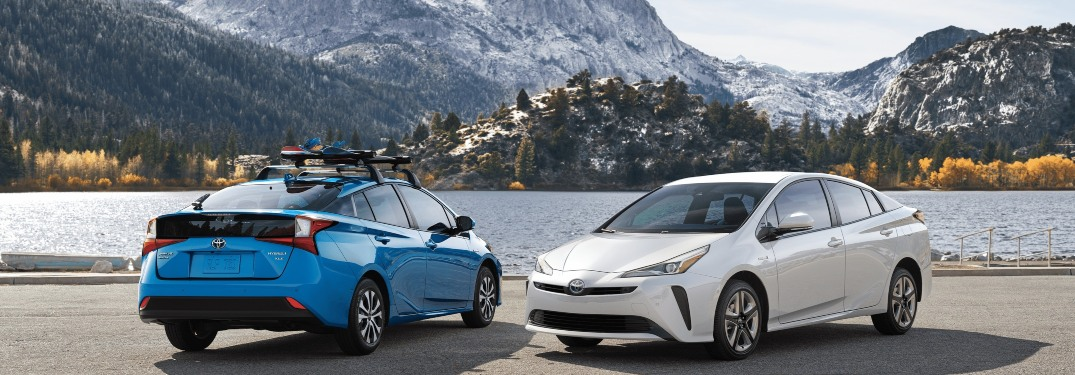 2020 Toyota Prius Color Options and Specs