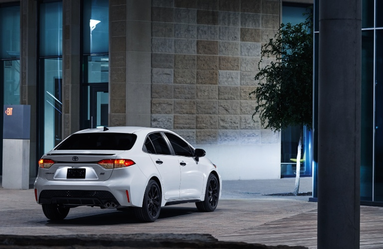 2020 Toyota Corolla Nightshade Edition Back End